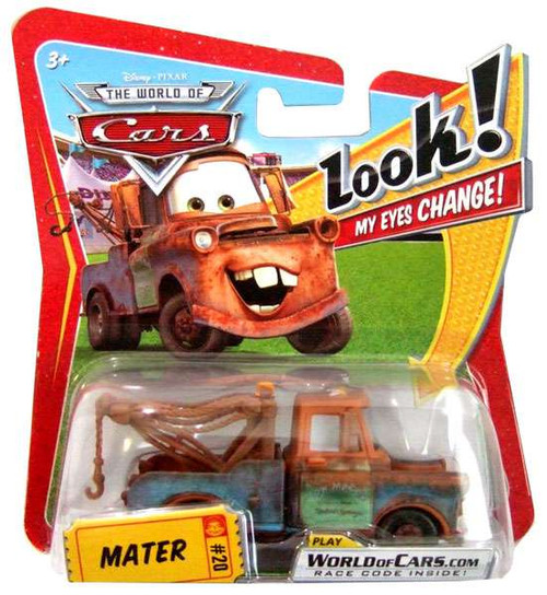 Disney Cars The World of Cars Lenticular Eyes Series 1 Mater Diecast Car