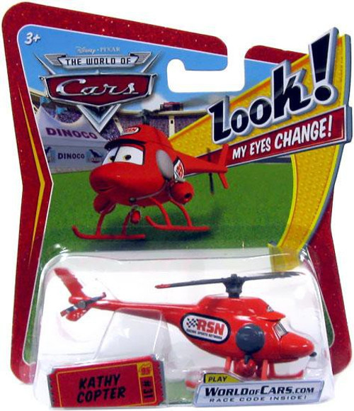 Disney Cars The World of Cars Lenticular Eyes Series 1 Kathy Copter Diecast Car