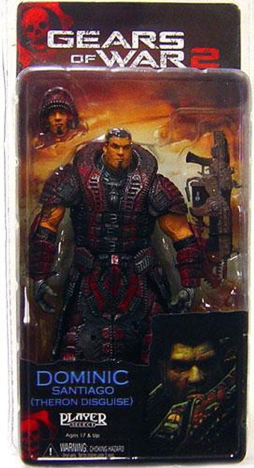 NECA Gears of War 2 Series 4 Dominic Santiago Action Figure [Theron Guard Disguise]