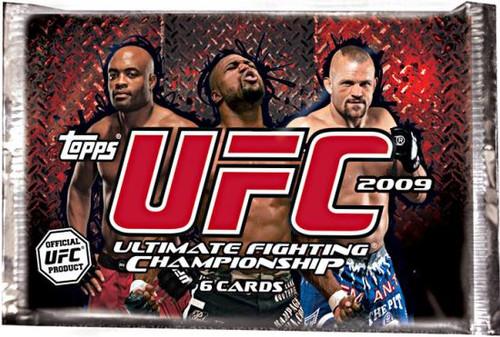 UFC 2009 Round 2 UFC Round 2 Trading Card Pack