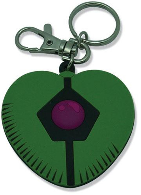 Robotech Macross Marcus's Heart Shaped Pendant PVC Keychain