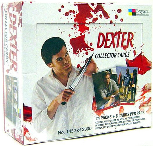 Dexter Collector Cards Trading Card Box