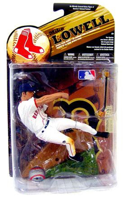 McFarlane Toys MLB Boston Red Sox Sports Picks Series 24 Exclusive Mike Lowell Exclusive Action Figure [White Jersey Variant]