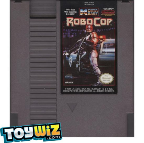 Nintendo NES RoboCop with Instructions Video Game Cartridge [Played Condition]