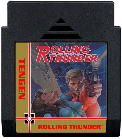 Nintendo NES Rolling Thunder Video Game Cartridge [Played Condition]