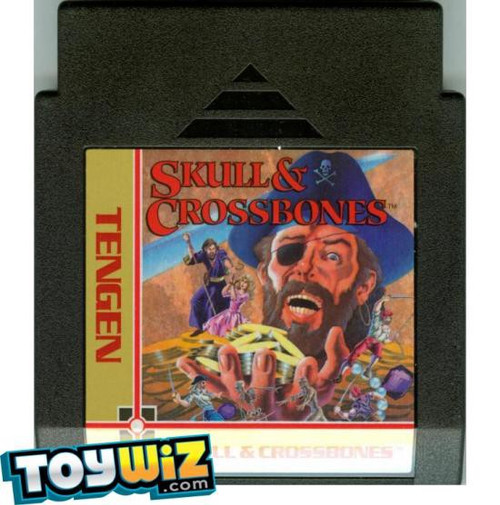 Nintendo Skull & Crossbones Video Game Cartridge [Played Condition]