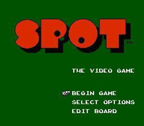 Nintendo NES Spot Video Game Cartridge [Played Condition]