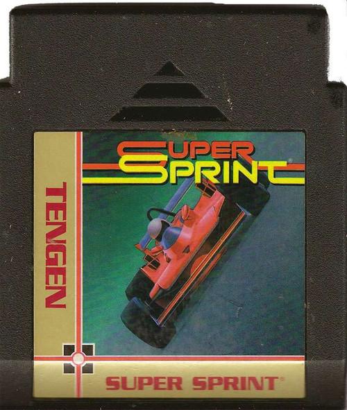 Nintendo NES Super Sprint Video Game Cartridge [Played Condition]