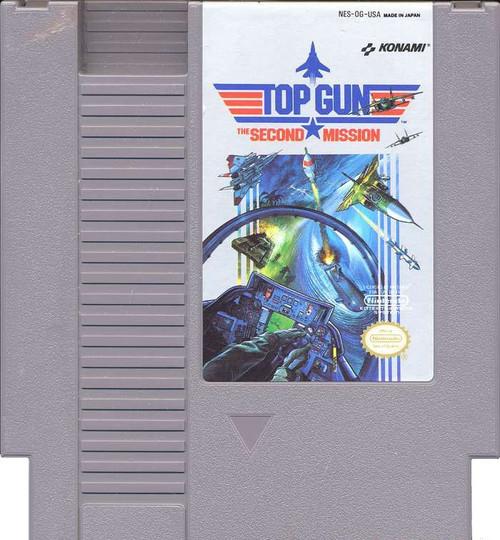 Nintendo NES Top Gun Video Game Cartridge [Played Condition]