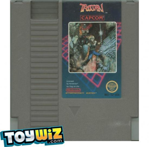 Capcom Nintendo NES Trojan Video Game Cartridge [Played Condition]