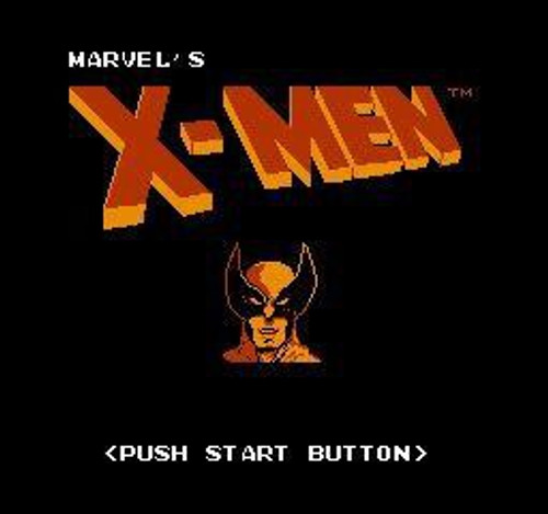 Nintendo NES The Uncanny X-Men Video Game Cartridge [Played Condition]