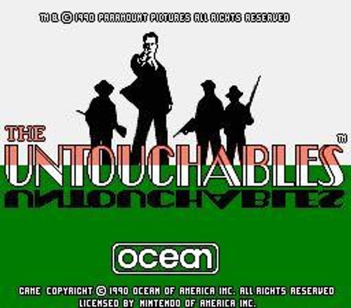 Nintendo NES The Untouchables Video Game Cartridge [Played Condition]