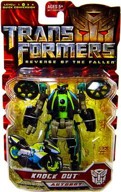 Transformers Revenge of the Fallen Knock Out Scout Action Figure