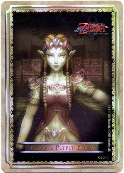 The Legend of Zelda Twilight Princess Gold Chase Gannon's Puppet: Zelda G3 of 9