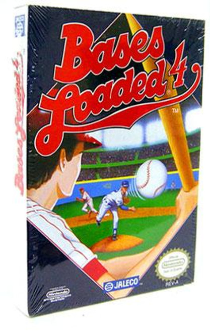Nintendo NES Bases Loaded 4 Video Game Cartridge [Factory Sealed]