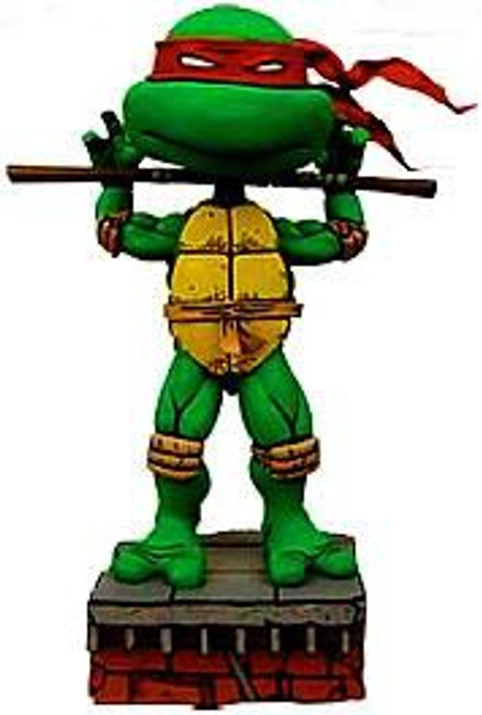 NECA Teenage Mutant Ninja Turtles Mirage Comic Head Knockers Donatello Bobble Head