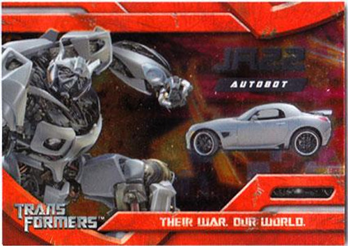 Transformers Movie Embossed Foil Autobot Jazz #4/10
