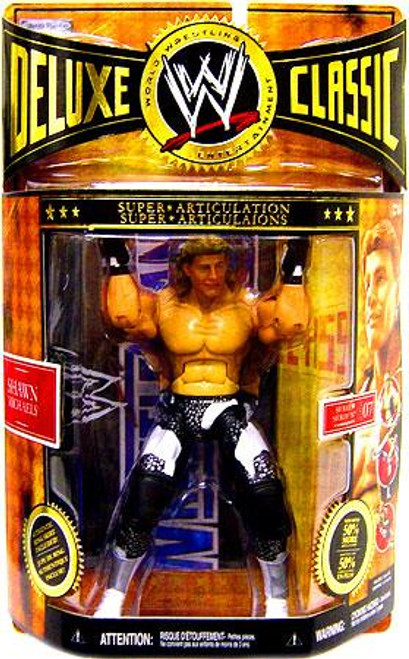 WWE Wrestling Deluxe Classic Superstars Series 7 Shawn Michaels Exclusive Action Figure