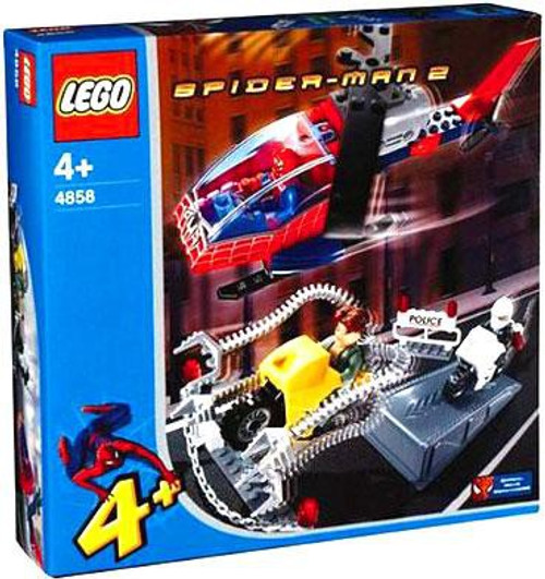 LEGO Spider-Man 2 Doc Ock's Crime Spree Set #4858