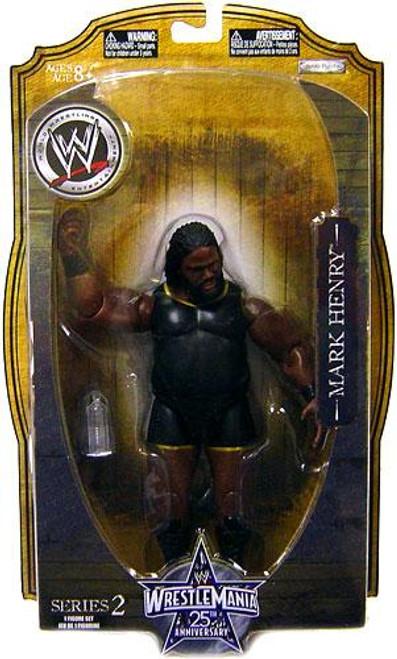 WWE Wrestling WrestleMania 25 Series 2 Mark Henry Action Figure