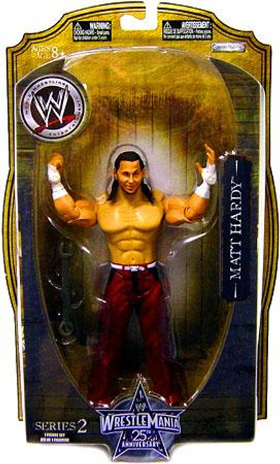 WWE Wrestling WrestleMania 25 Series 2 Matt Hardy Action Figure