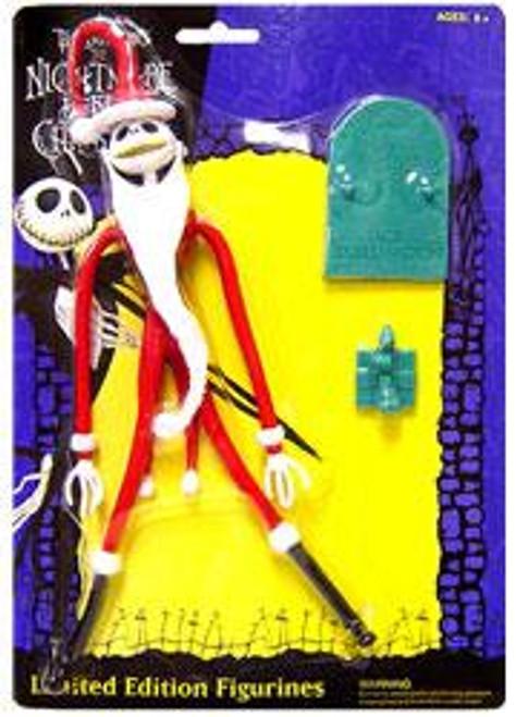 NECA The Nightmare Before Christmas Bendable Jack Skellington Figure [Santa]