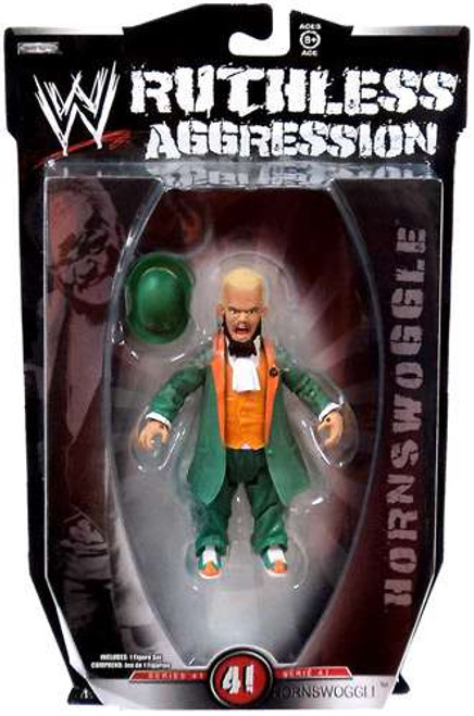 WWE Wrestling Ruthless Aggression Series 41 Hornswoggle Action Figure