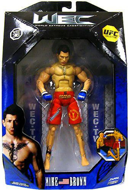 UFC Collection Series 2 Mike Brown Action Figure [WEC 36]