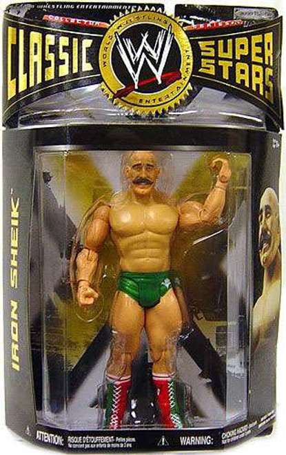 WWE Wrestling Classic Superstars Series 26 Iron Sheik Action Figure