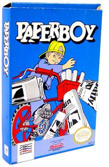 Nintendo NES Paperboy Video Game Cartridge [Opened, Complete]