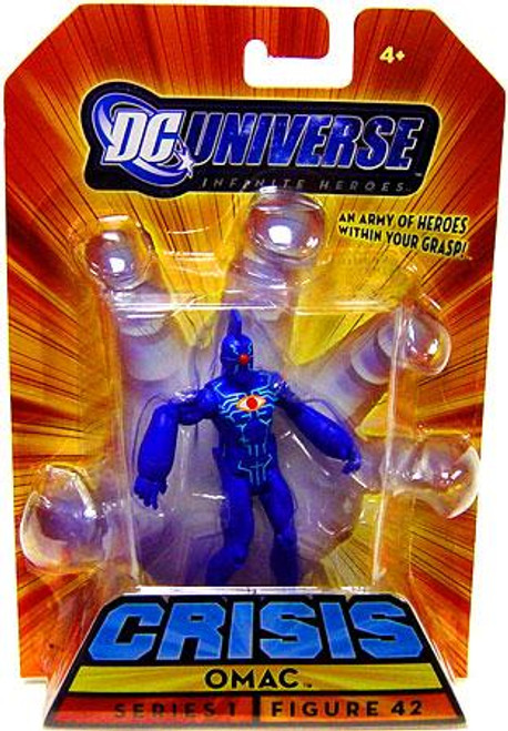 DC Universe Crisis Infinite Heroes Series 1 Omac Action Figure #42