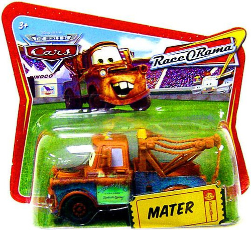 Disney Cars The World of Cars Race-O-Rama Mater Diecast Car [Checkout Lane Package]