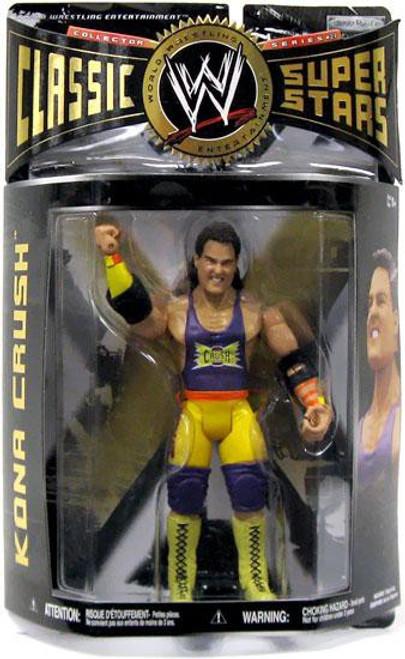 WWE Wrestling Classic Superstars Series 27 Kona Crush Action Figure