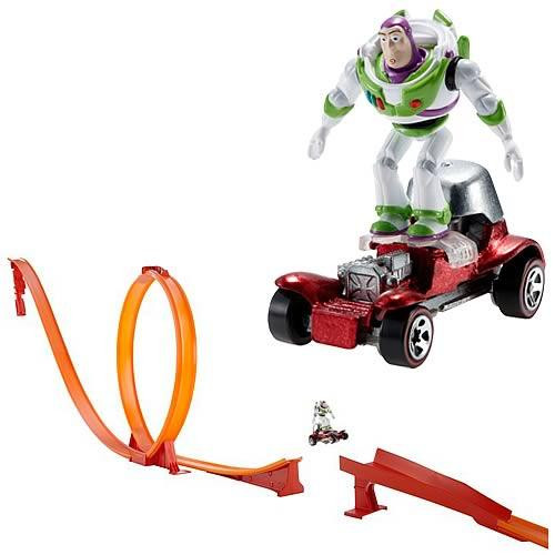 Disney Toy Story Hot Wheels Classic Falling With Style Track Set
