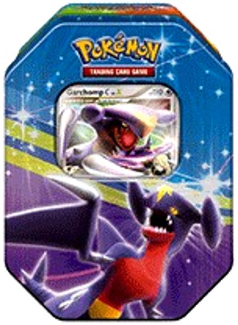 Pokemon Platinum Fall 2009 Garchomp Collector Tin