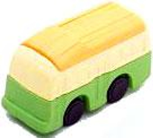 Iwako Bus Eraser [Green & Yellow]