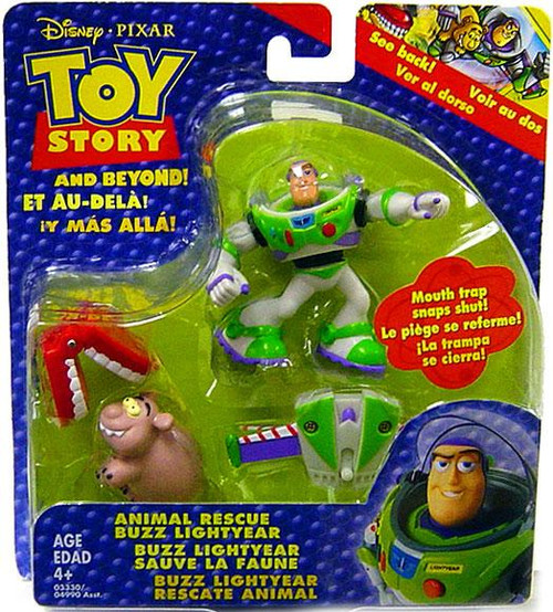 Toy Story and Beyond Buzz Lightyear's Animal Rescue Mini Figure Set