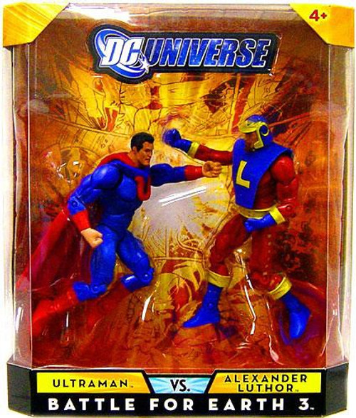 DC Universe Ultraman Vs Alexander Luthor Exclusive Action Figures