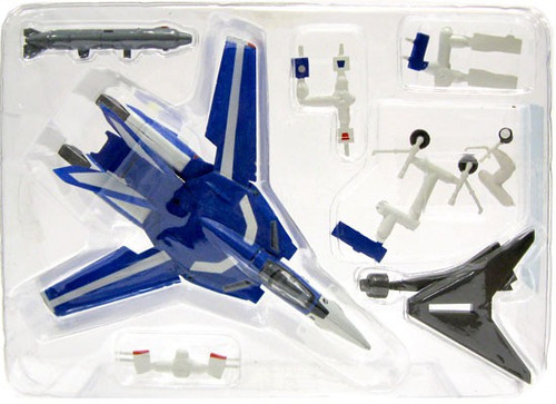 Macross Chara-Works Volume 2 Blue VF-1J Valkyrie Model Kit #1