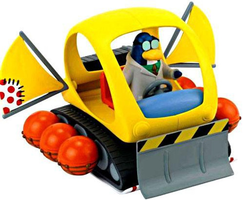 Club Penguin Snowtrekker Vehicle Set