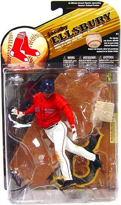 McFarlane Toys MLB Boston Red Sox Sports Picks Series 25 Jacoby Ellsbury Action Figure [Red Jersey Variant]