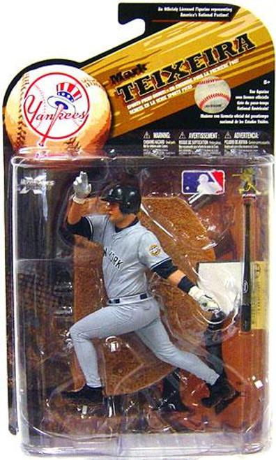 McFarlane Toys MLB Sports Picks Series 25 Mark Teixeira (New York Yankees) Action Figure [Gray Jersey Variant]