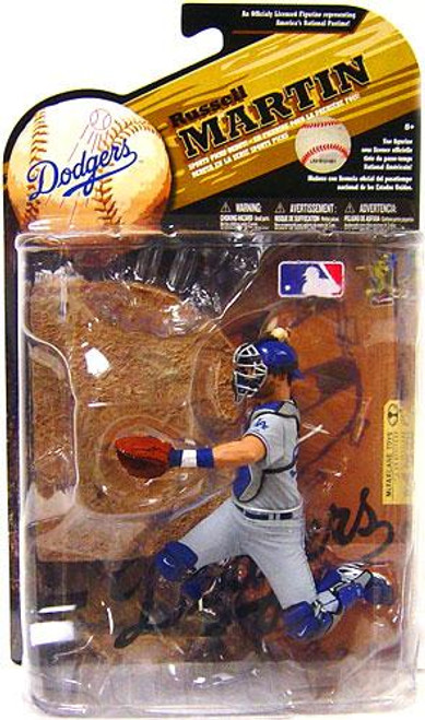 McFarlane Toys MLB Sports Picks Series 25 Russell Martin (Los Angeles Dodgers) Action Figure [Gray Jersey Variant]