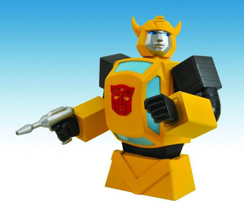 Transformers Bumblebee Roto Bank Bust