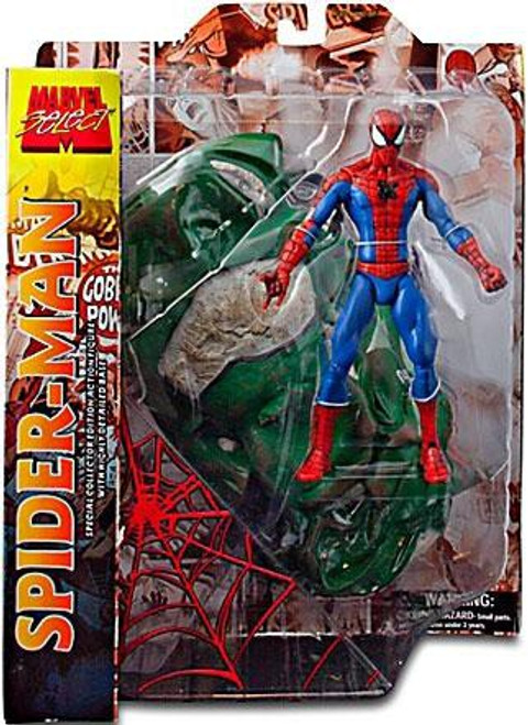 Marvel Select Spider-Man Action Figure [With Car]
