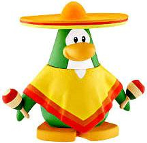 Club Penguin Sombrero Guy 2-Inch Mini Figure