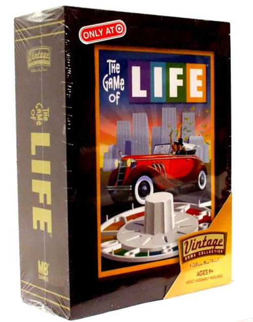 Vintage Game Collection The Game of Life Board Game