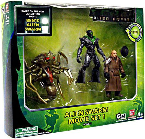 Ben 10 Alien Swarm Movie Set 1 Action Figure Set