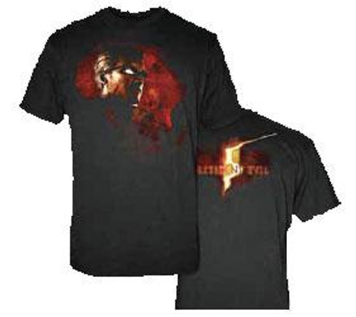 Resident Evil Wesker in Africa T-Shirt [Adult Small]