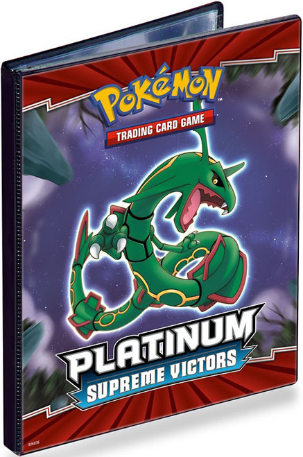 Ultra Pro Pokemon Platinum Supreme Victors 4-Pocket Binder [Version 1]
